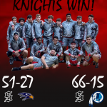 Knights Sweep Tri-Match, Defeat Hanahan and Stall