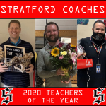 Stratford Coaches Recognized As Teachers of the Year