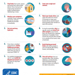 CDC Tips For Our Athletes And Their Families