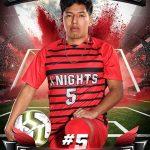 Senior Spotlight: Oseas Martinez (Boy's Soccer)