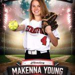 Senior Spotlight: Makenna Young (Softball)