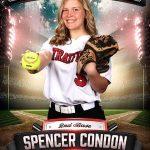 Senior Spotlight: Spencer Condon (Softball)