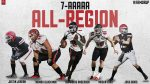 Knights Land Five On All-Region Team