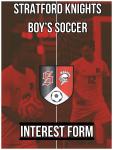 JV and Varsity Boy's Soccer Interest Form