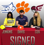 Cox, Davis, Jenkins Ink To Play At Next Level