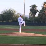 Caleb Ferguson Pitching With Arizona Dodgers