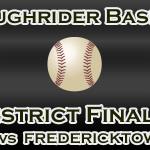 Baseball District Finals Info