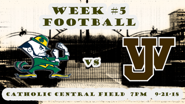 HS Football: West Jeff vs Catholic Central