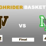 Boys Varsity Basketball falls to Madison Plains 44 – 42