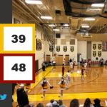 Boys Varsity Basketball falls to Northeastern 48 – 39