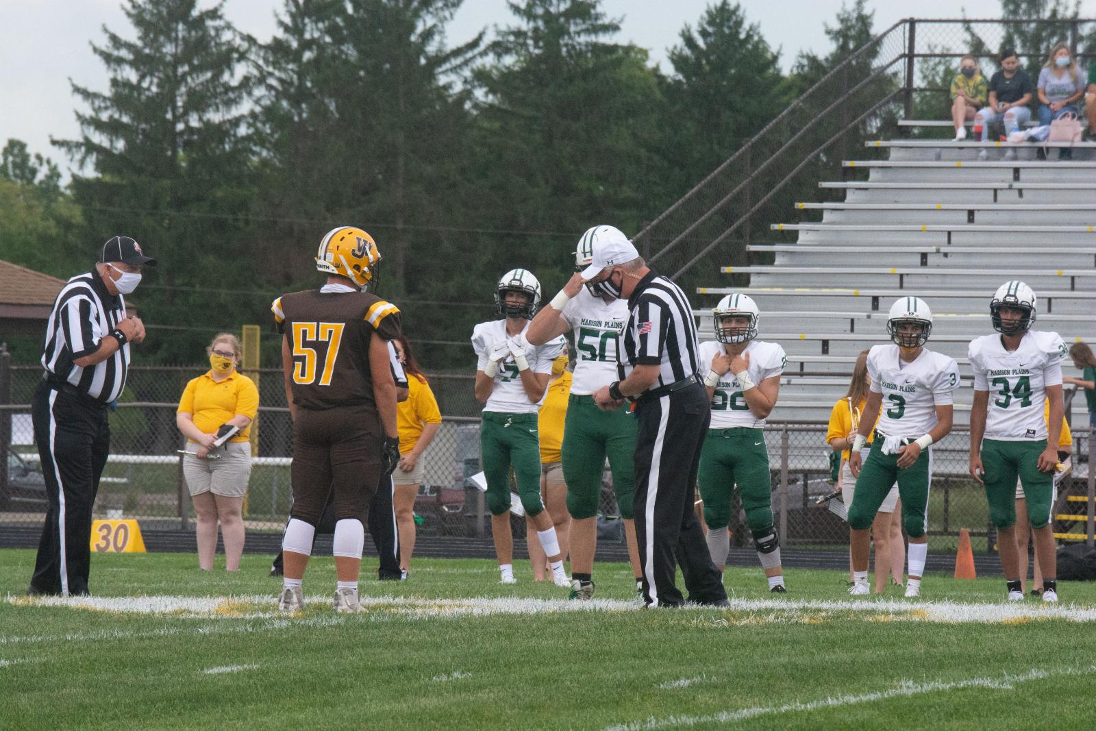 HS Football: WJ vs Madison Plains 8-28-20