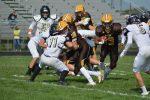 JV Football vs Benjamin Logan HS