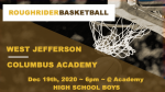 HS Boys Basketball: WJ vs Academy