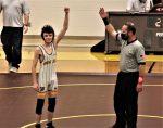 HS wrestling vs McClain