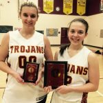 Bailey Vig and Lyndsey Huhn lead Lady Trojans to 3-0 Holiday Classic