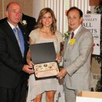 Ashley McIntosh honored at Mon Valley Sports Hall of Fame Banquet