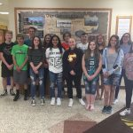 Middle School Track Team Breaks Several School Records