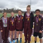 Six Trojans Win Gold at 6-AA Section Championships