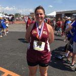 Congratulations Marissa Bitonti for finishing Fourth in PIAA- click for article in OR