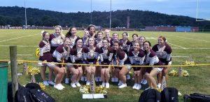 Cheerleading Gallery- Cal vs. Avella 9-7-18