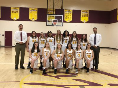Lady Trojans travel to Mapletown 1/17/19 at 7pm