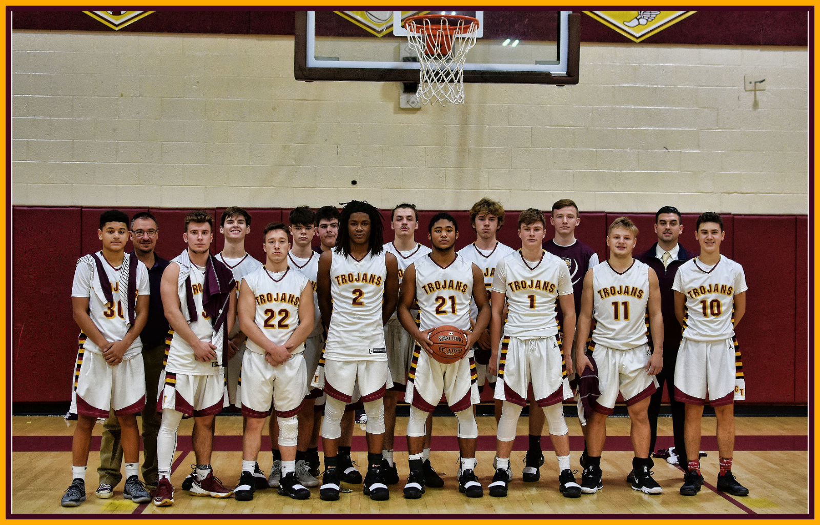 Trojans travel to Jennette for key section matchup tonight (1/11/19)
