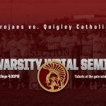 Trojans face Quigley in WPIAL Semi-Finals Wednesday May 22, 2019 at 4pm at W & J