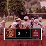 Boys Varsity Baseball beats Quigley Catholic 3 – 1