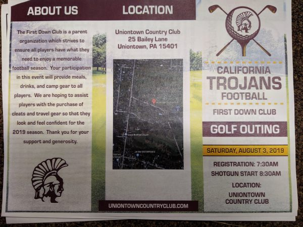 California Trojans First Down Club Golf Outing- Saturday August 3, 2019