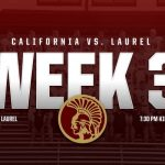 Trojans travel to Laurel Friday September 13, 2019 at 7:30pm