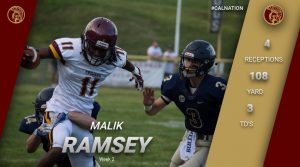 Malik Ramsey Week 2