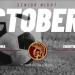 Soccer doubleheader Tuesday October 8, 2019.  Senior Night and Youth Soccer night!