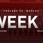 Trojans travel to Mapletown for final regular season game Friday October 25, 2019 at 7pm