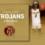 Trojans travel to West Greene tonight December 27, 2019 at 7pm