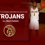 Trojans vs. Albert Gallatin Saturday December 28, 2019 at 2pm at Trinity High School