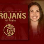 Lady Trojans host Avella 1/2/2020 at 7:15pm