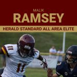 Malik Ramsey named Herald Standard All Area Elite