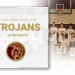 Trojans travel to Bentworth 1/14/2020 at 7:30pm