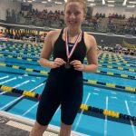Georgagis swims in Section 5AA Invitational
