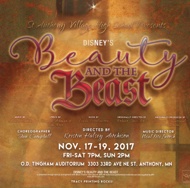 SAVHS Presents – Beauty and the Beast
