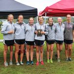 Girls XC Team Runners up of the Cherokee Cross Country Meet