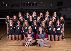2018 Volleyball Team picture