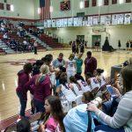 Oak Ridge High School Girls Varsity Basketball beat Clinton High School 55-28