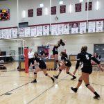 Volleyball vs Halls