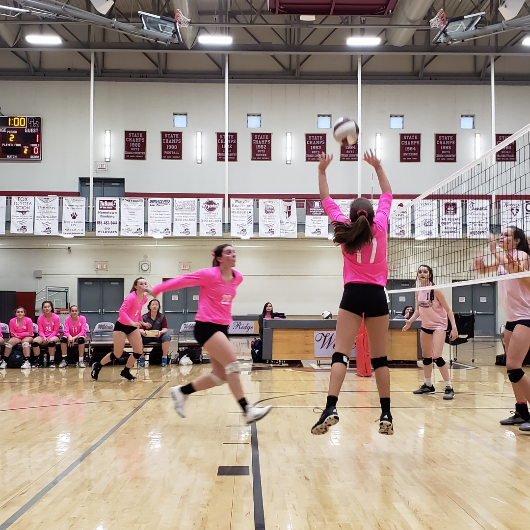 Farragut Takes the Match on Dig Pink Night