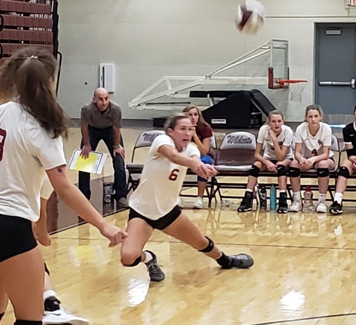Lady Wildcat Volleyball Opens Second Half of District Play