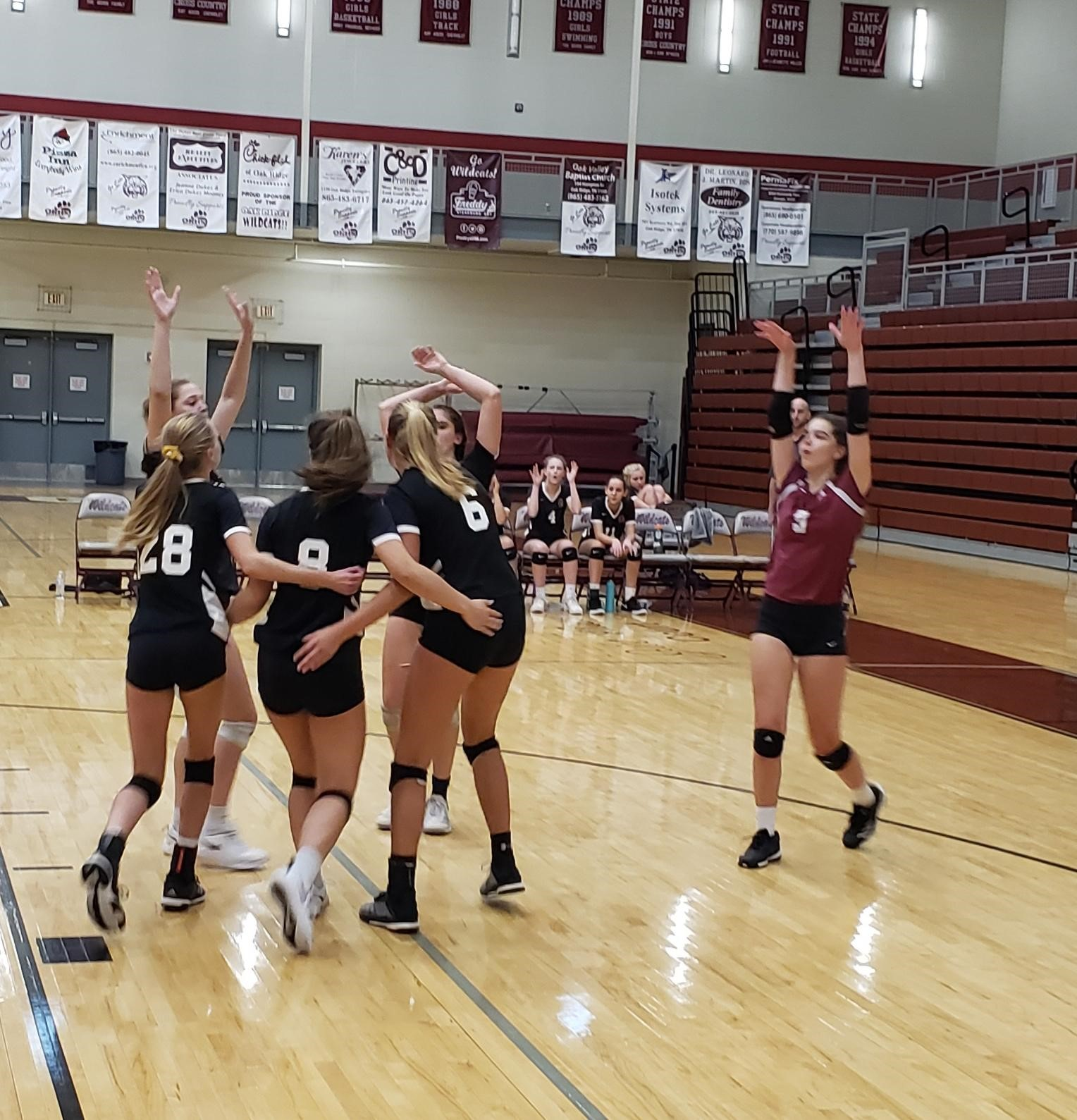 Lady Wildcats Defeat West Rebels in Four Sets