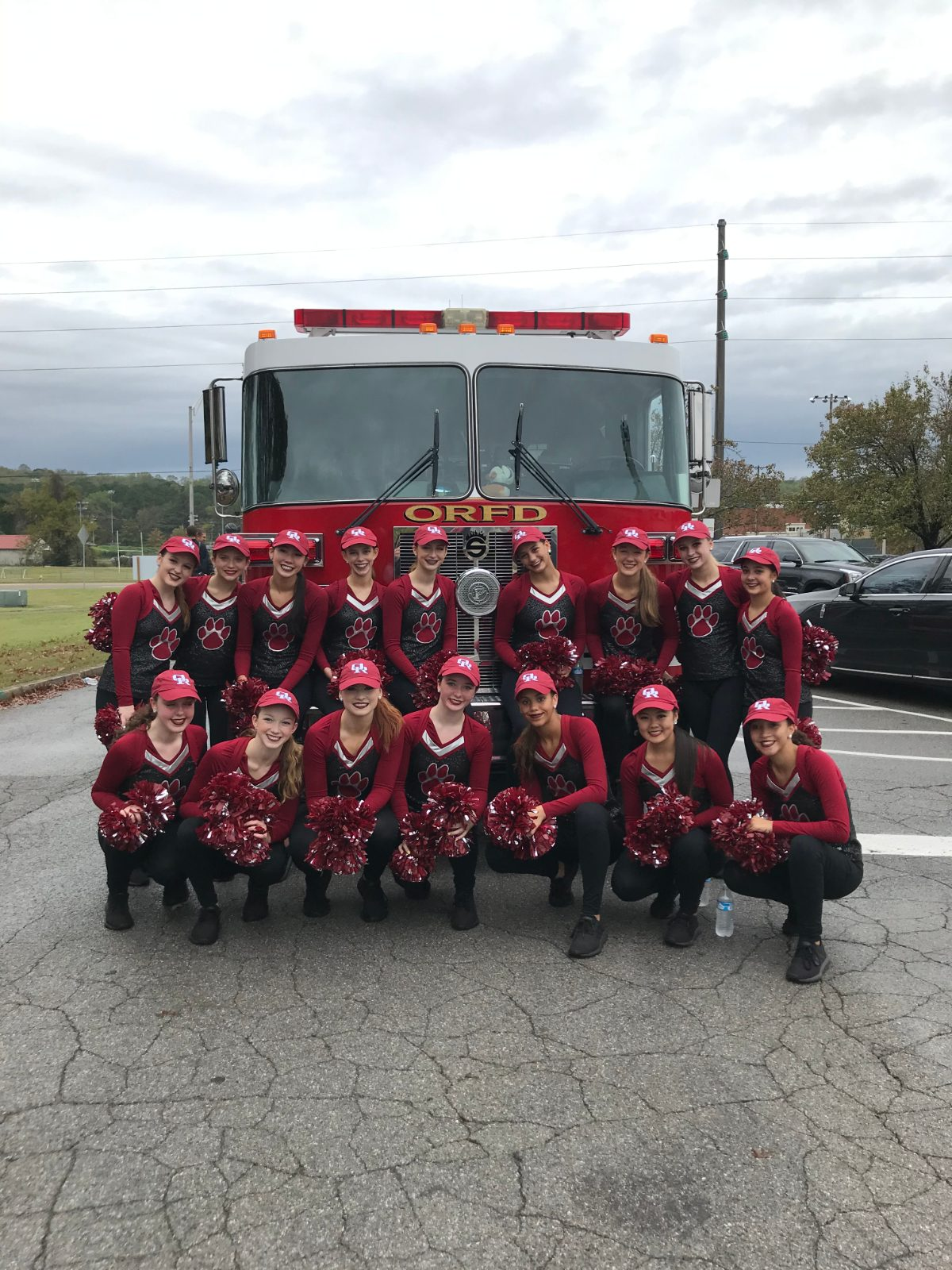 Dance Cats Participate in Fire and Crime Prevention Celebration