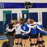 Junior Varsity Volleyball vs. Monroe - Sept 16, 2014