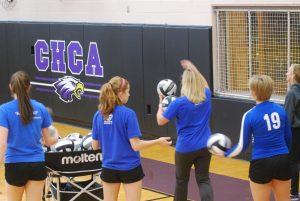 Junior Varsity Volleyball vs. CHCA – Oct 2, 2014